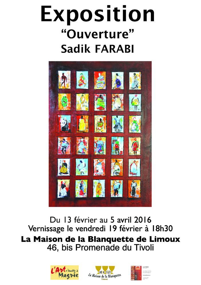 Affiche A4 expo Maison Blanquette final 16