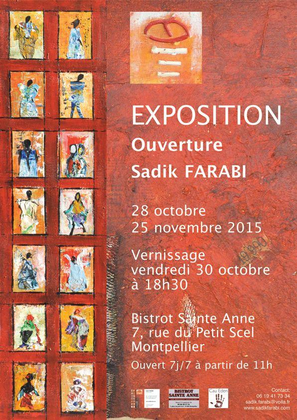 Affiche expo Sadik Farabi 30 oct 2015_1